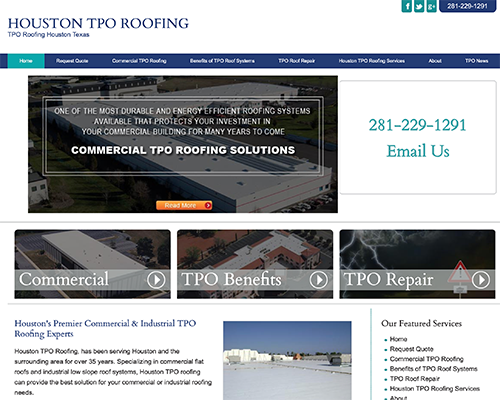 Houston TPO Roofing